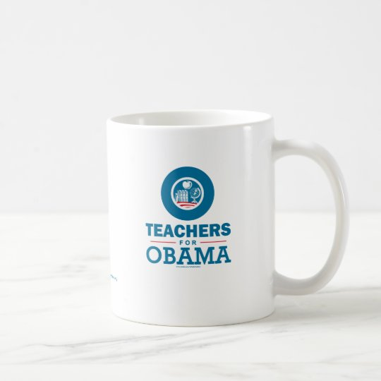 Teachers for Obama Coffee Mug