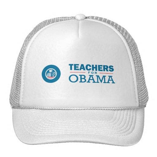 Teachers for Obama Hats