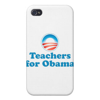 Teachers for Obama iPhone 4 Case