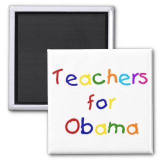 Teachers For Obama Magnets