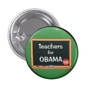 Teachers for Obama Pinback Button