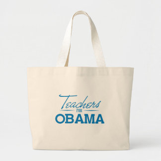 TEACHERS FOR OBAMA - png Canvas Bags