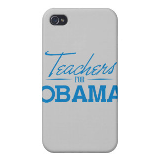 TEACHERS FOR OBAMA -.png iPhone 4 Case
