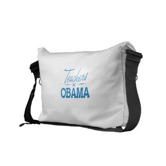 TEACHERS FOR OBAMA - png Messenger Bag