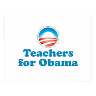 Teachers for Obama Postcard