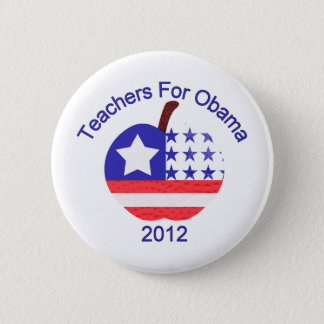 Teachers For Obama Tees and Gifts Button