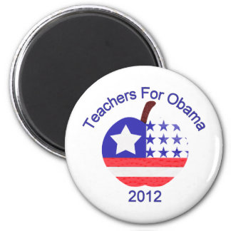 Teachers For Obama Tees and Gifts Magnet