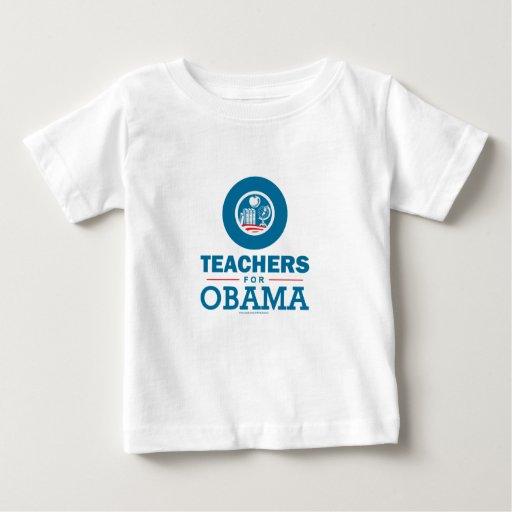 Teachers for Obama Tshirt