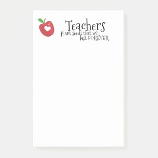 Teachers fun quotes red apple heart