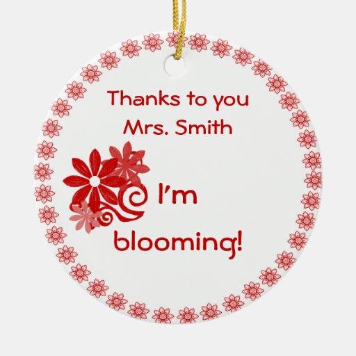 Teachers' Gift Ornament