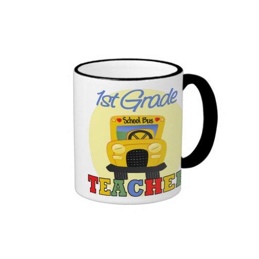Teachers Gifts Ringer Coffee Mug