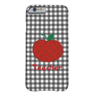 Teacher's Gingham Apple iPhone 6 case