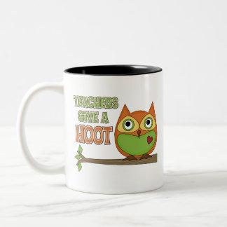 Teachers Give A Hoot Coffee Mugs