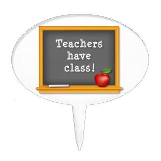 Teachers have Class! Cake Topper