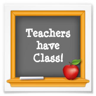 Teachers have Class ! Photograph