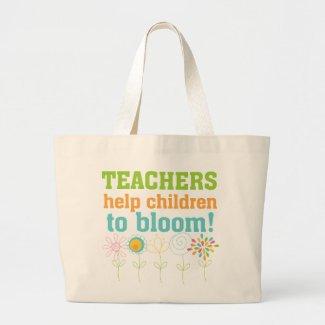 Teachers Help Children Bloom Bag