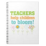 Teachers Help Children Bloom Journal