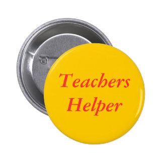 Teachers Helper Pinback Button