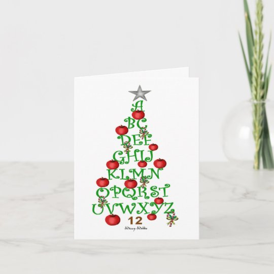 Teachers holiday greeting card zazzle teachers holiday greeting card m4hsunfo