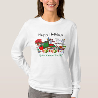 Teachers Holiday Long Sleeve T-Shirt