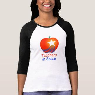 Teachers in Space, Inc. Women's baseball-style M T-Shirt