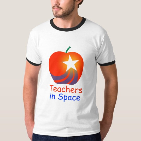 Teachers in Space Ringer T-Shirt
