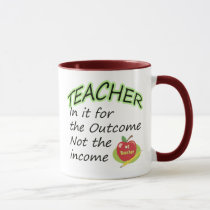 Teacher's Income Mug