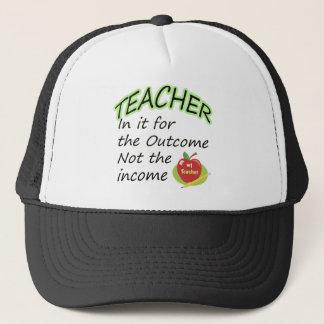 Teacher's Income Trucker Hat