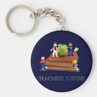 Teachers Inspire Key Chains