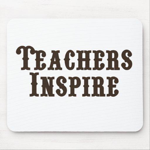 Teachers Inspire Mousepad