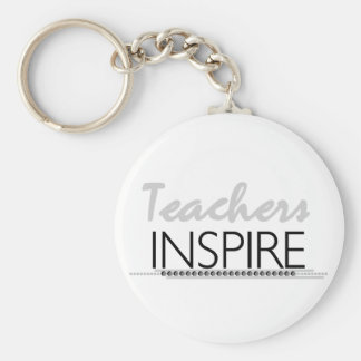 Teachers Inspire Tshirts and Gifts Key Chains