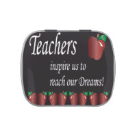 Teachers Inspire Us Candy Tin