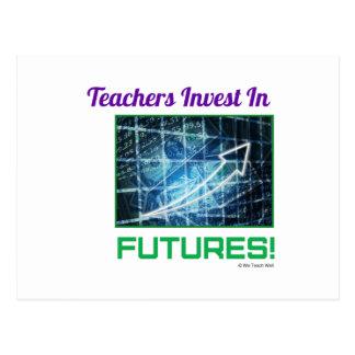 Teachers Invest in Futures Postcard