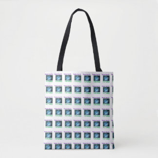 Teachers invest  tilled two tone tote. tote bag