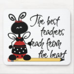 Teacher's Ladybug Mouse Pad