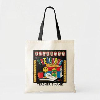 Teacher's Little Treasures | DIY Name Budget Tote Bag