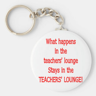 Teacher's Lounge Keychain