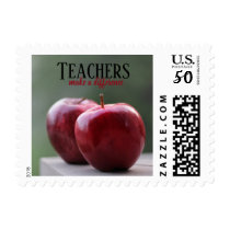 Teachers Make a Difference Postage Stamps
