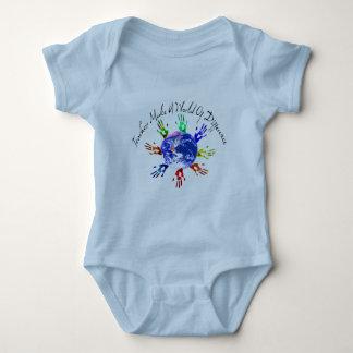 Teachers Make a World Baby Bodysuit