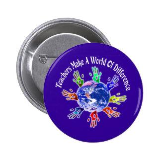 Teachers Make a World Buttons