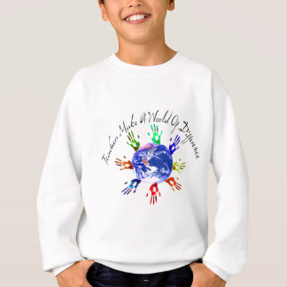 Teachers Make a World Kids' Sweatshirts