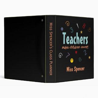 Teachers make children count Binder