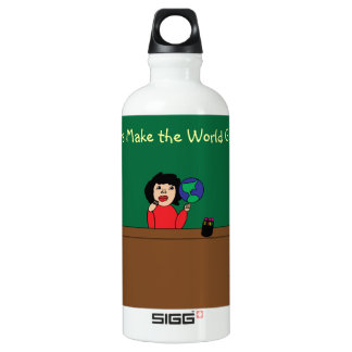 Teachers Make the World Go Round Liberty Bottle SIGG Traveler 0.6L Water Bottle