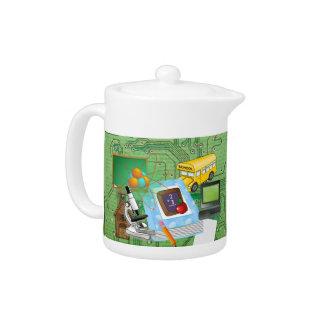 Teachers' Math & Science Teapot