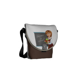 Teachers Mini Messenger Bag w CPR Instructions