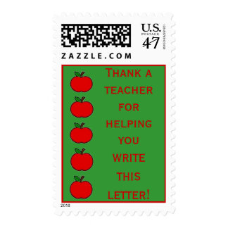 Teacher's Need Thanks For All They Do! Postage