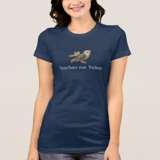 Teachers Not Trident Scottish Independence Owl T Tees