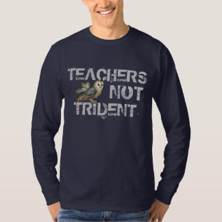 Teachers Not Trident Scottish Independence T-Shirt