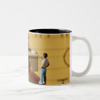 Teachers on Apple Two-Tone Coffee Mug