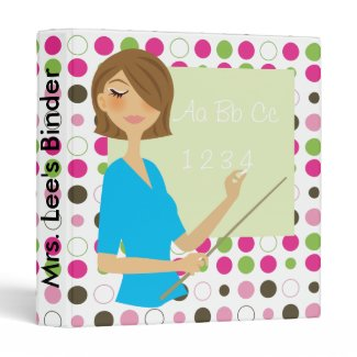 Teacher's Personalized Binder